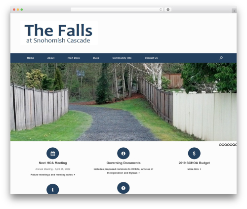 Free WordPress Footer Putter plugin - thefalls-schoa.com