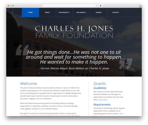 WordPress theme theme1948 - thejonesfamilyfoundation.org