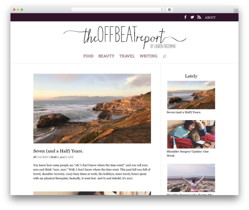 WordPress simple-instagram plugin - theoffbeatreport.com
