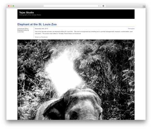 Zack 990 WordPress template - tejasstudio.com