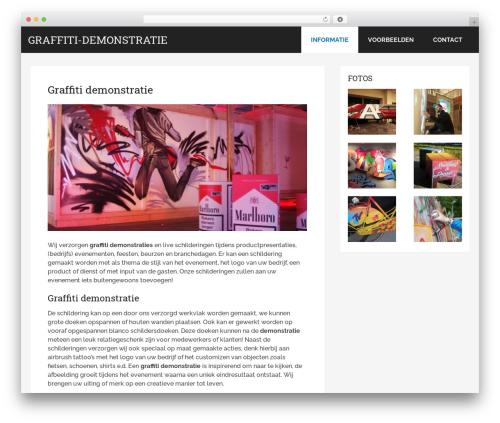 Best WordPress template Schema by MyThemeShop - graffiti-demonstratie.nl