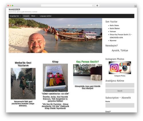 Hometard WordPress travel theme - gurcanelbek.com