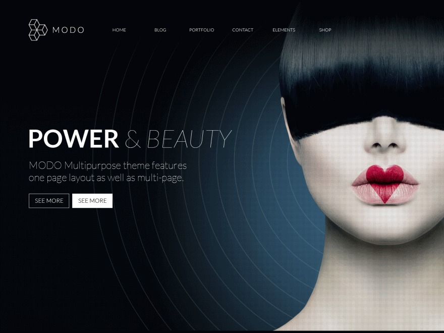 Modo business WordPress theme