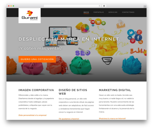 Suite best WordPress theme - guramistudios.com