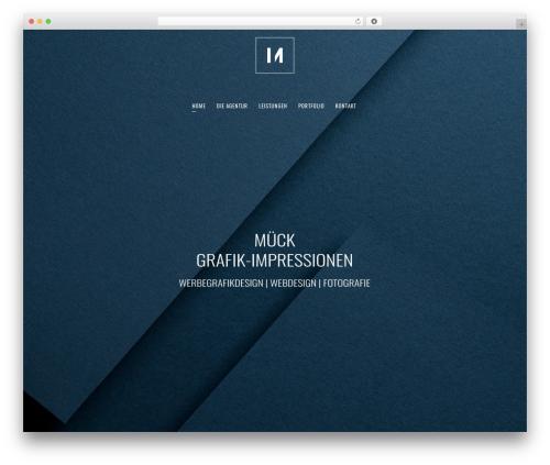 Theme WordPress Bridge - grafik-impressionen.at