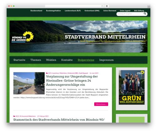 Urwahl3000 premium WordPress theme - grueneboppard.de