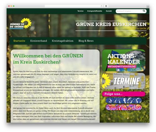 Urwahl3000 WordPress theme - gruene-euskirchen.de