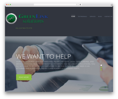 Best WordPress theme cherry - greenlinklaw.com