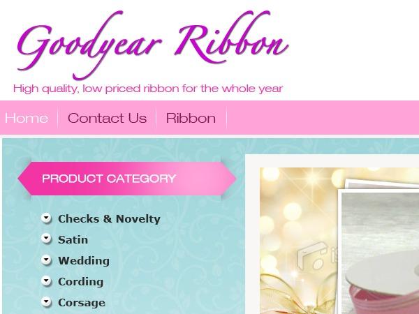 Goodyear Ribbon best WordPress template