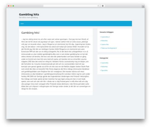 Hayes top WordPress theme - gamblinghits.net