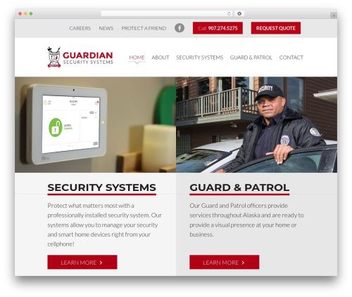 Sundog CORE top WordPress theme - guardiansecuritysys.com