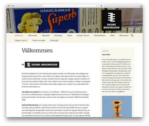 Twenty Thirteen theme WordPress free - gusumsbruksmuseum.se