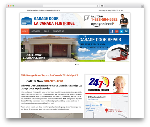 Twenty Thirteen WordPress theme - garagedoorlacanadaflintridgecal.com