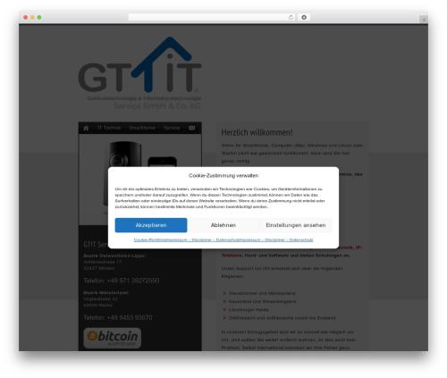 Web Visitenkarte Wordpress Template By Sb Brings Online Com