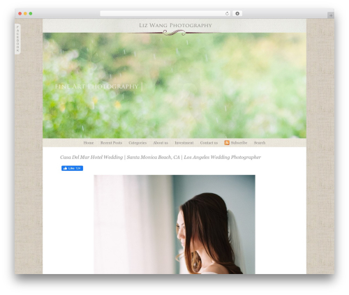 WordPress theme ProPhoto - gracelightphotography.com