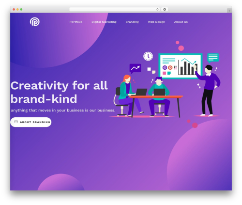 Best WordPress theme TM Moody - ip-ads.com