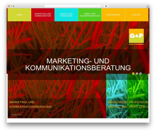 cherry WordPress news template - gundp-bonn.de