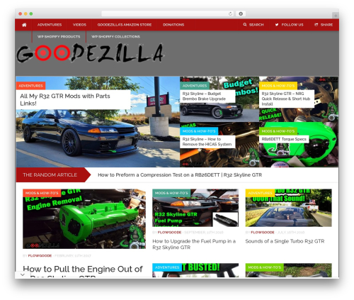 Codilight WordPress page template - goodezilla.com