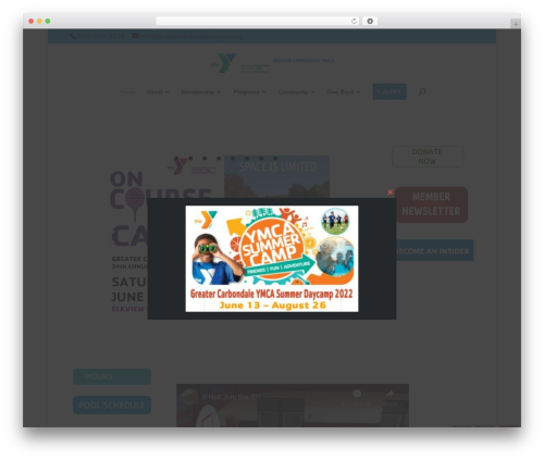 Free WordPress Child Theme Generator plugin - greatercarbondaleymca.org/site