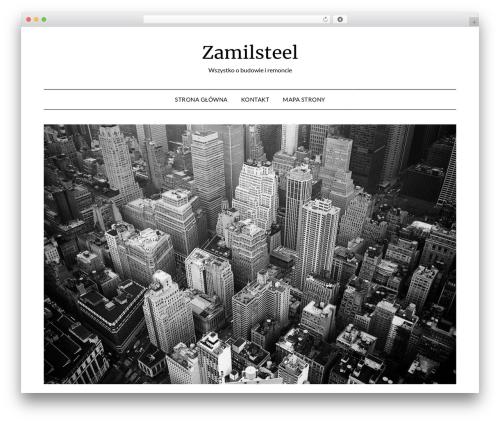 MinimalistBlogger WordPress blog template - zamilsteel.pl