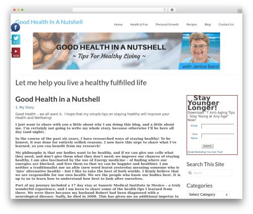 WordPress viral-social-slider plugin - goodhealthinanutshell.com