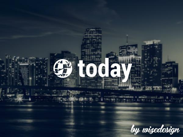 Today WordPress video template