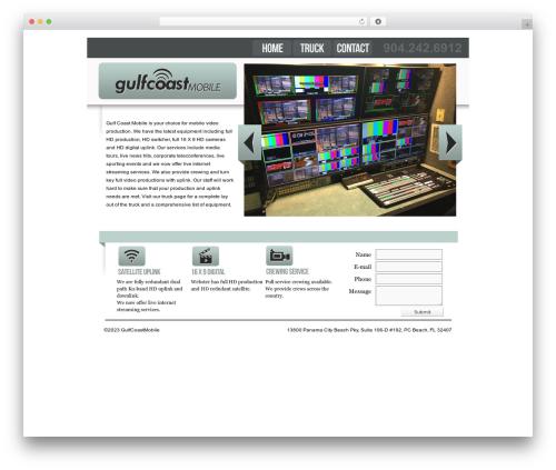 WordPress theme BLANK Theme - gulfcoastmobile.tv