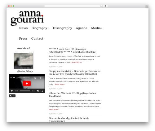 Brilliant theme WordPress - gourari.com
