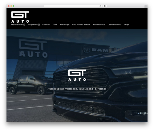 Businessx WordPress theme - gt-auto.fi
