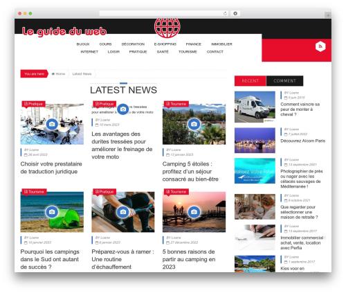 Epira Lite WP template - guide-du-web.fr