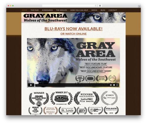 Genesis WP template - grayareathefilm.com