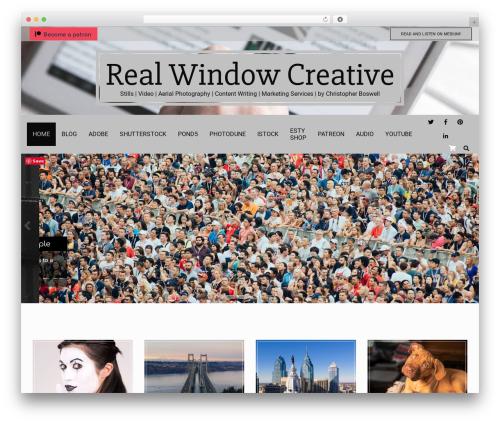 Nevark template WordPress - realwindowmedia.com