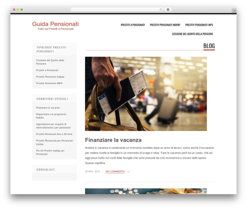 Tesla template WordPress - guidapensionati.com