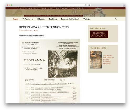 Twenty Thirteen WordPress free download - goks.de
