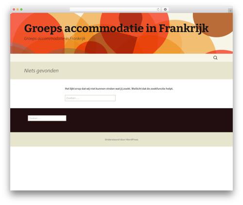 Twenty Thirteen WordPress template free download - groepsaccommodatiefrankrijk.com