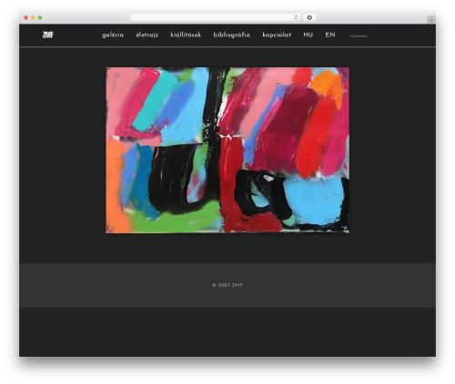 WordPress theme Services - zmf.hu