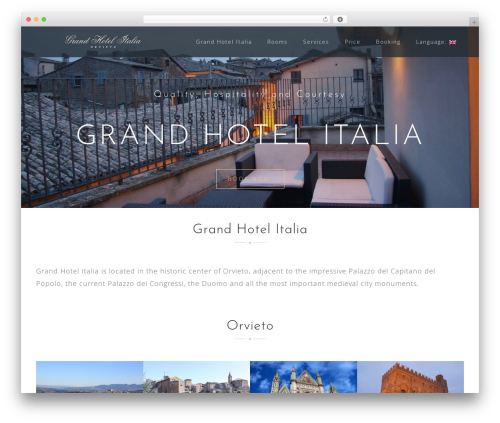 Astrid best free WordPress theme - grandhotelitalia.it