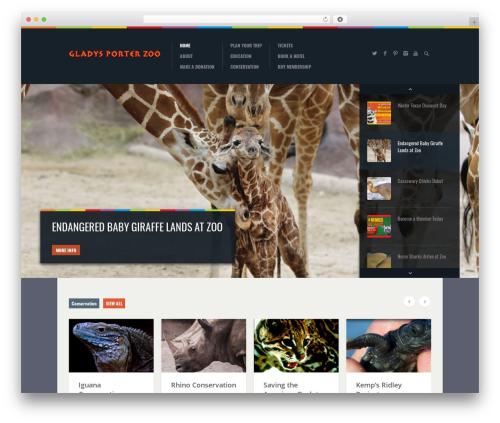 Biosphere WordPress theme - gpz.org