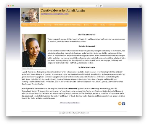 Blank Theme WordPress website template - gyrotonictallahassee.com