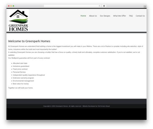 Celestial Reloaded template WordPress - greenparkhomes.com.au