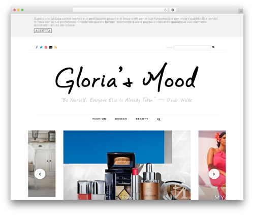 Little Elegancé WordPress theme - gloriasmood.com