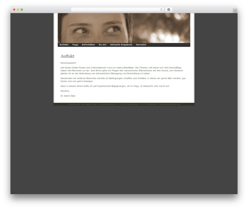 Template WordPress Ambiru - gero-di.de