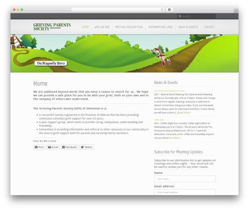 Template WordPress Inspire - grievingparents.ca