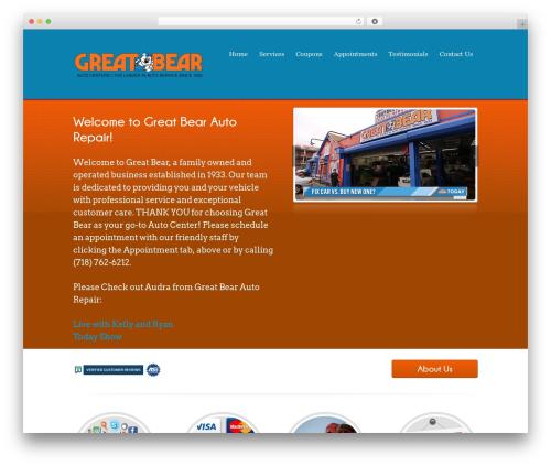 Template WordPress Poloray  Pro Responsive Theme - greatbearautoshop.com