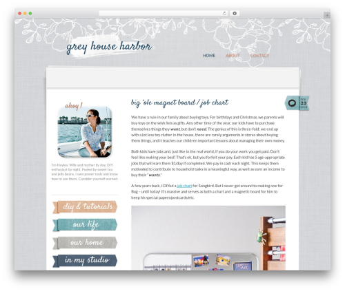 Theme WordPress Writer Child - greyhouseharbor.com