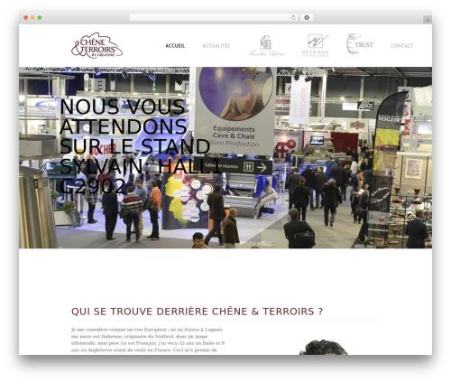 WordPress theme () Craft - gregoire-barrique.fr