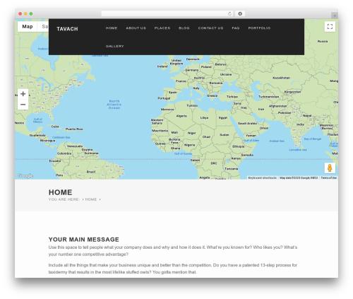 WPVoyager premium WordPress theme - tavach.com