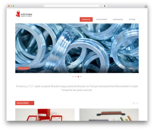Best WordPress template Entrance - gultekssanayi.com