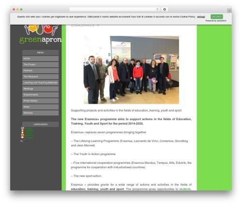 Blogly Lite theme WordPress free - greenapron.eu