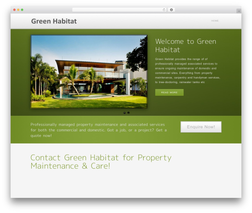 Method WordPress theme - greenhabitat.com.au